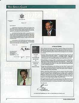 Letters from Gov. Pataki and Larry Chertoff
